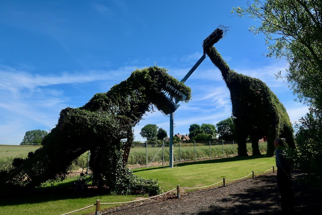 Vellingeblomman dinosaurier