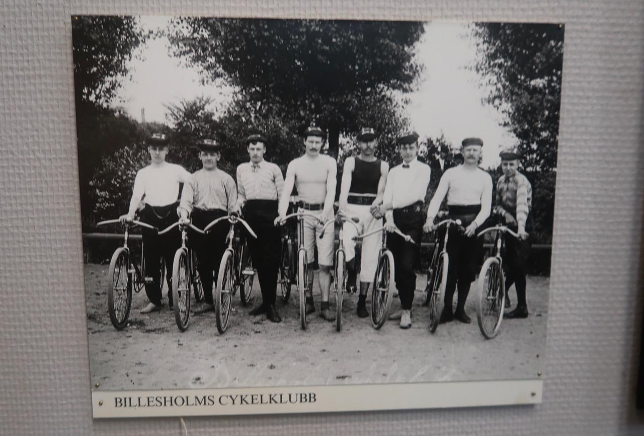 Billesholms cykelklubb cyklar museum