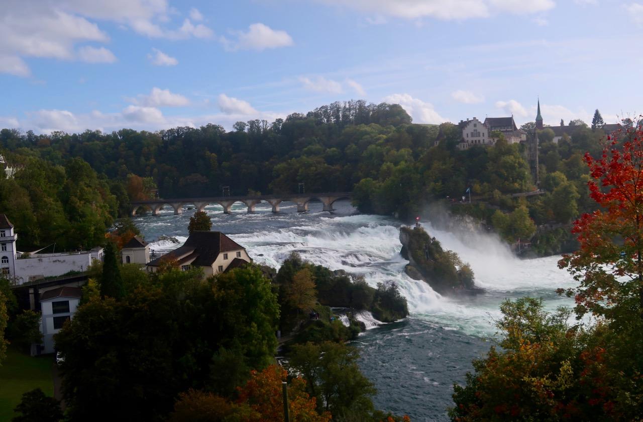 Rhen Rheinfalles