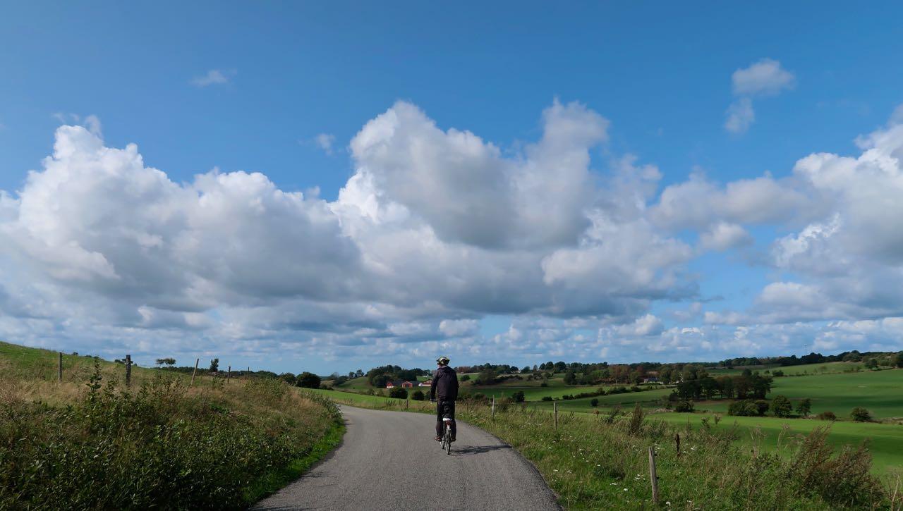Bjäre Båstad Salomonhög Skåne cykel