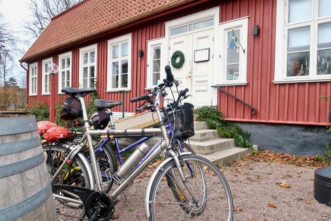Erikstorps kungsgård julbrunch cykel