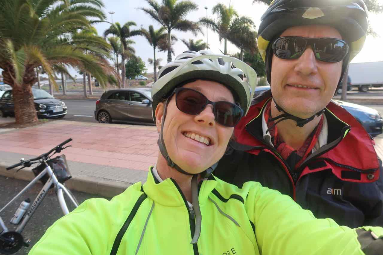 Annika och Sven Gran Canaria